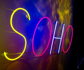 Soho Neon. Photo by David Tett.