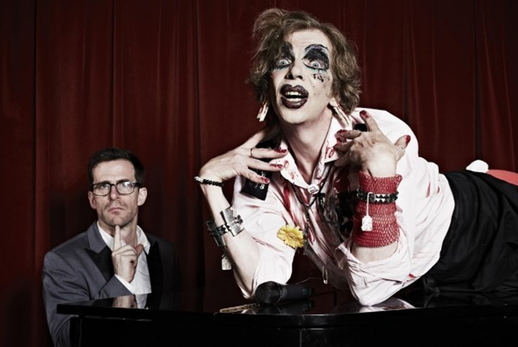David Hoyle Richard Thomas Merrie Hell