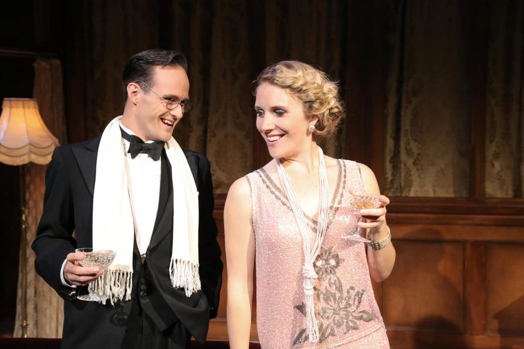 La Traviata - Lawrence Olsworth-Peter (Alfredo) & Louisa Tee (Violetta) - Photo by Andreas Grieger 2