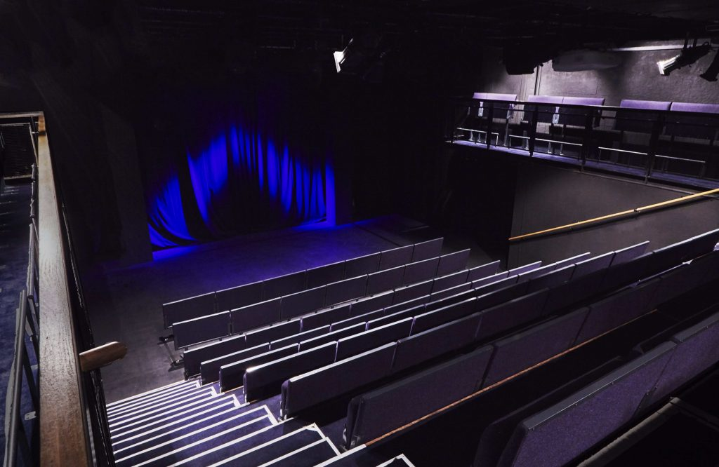 Soho Theatre - empty auditorium (1)