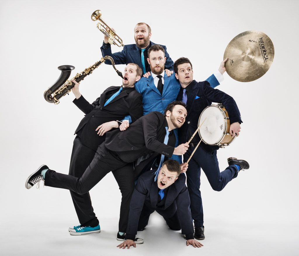 Horne Section production image