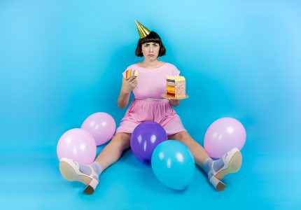 Publicity image of Sadie Clarke for the show Algorithms
