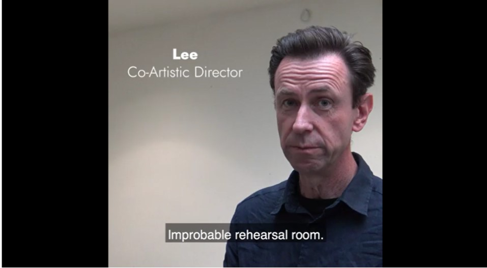 Improbable rehearsal room