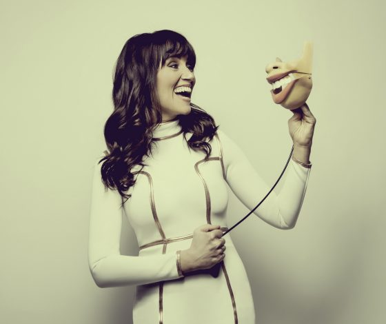 publicity image of Nina Conti for In Your Face