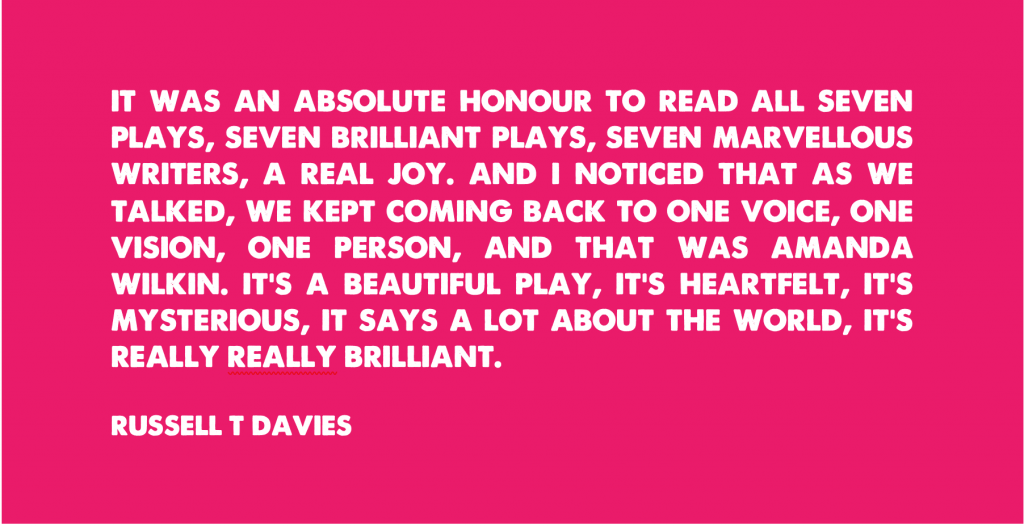 Russell T Davies Quote Rectangle