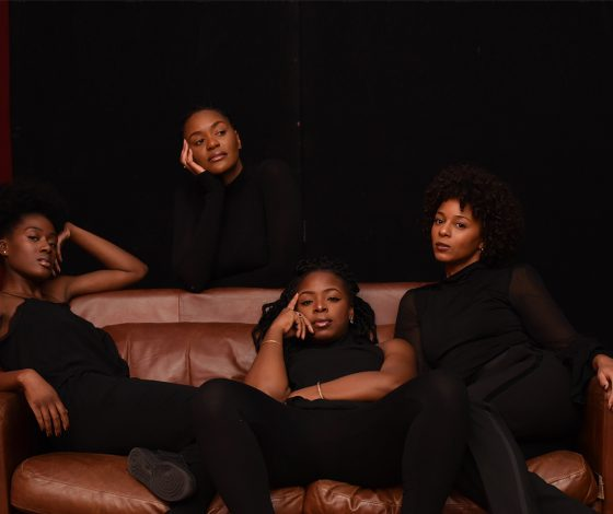 publicity image of the play Queens of Sheba