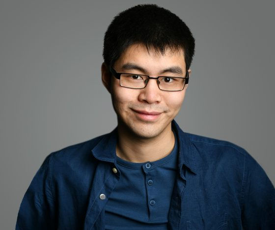 publicity image of Ken Cheng for the comedy show Chinese Comedian