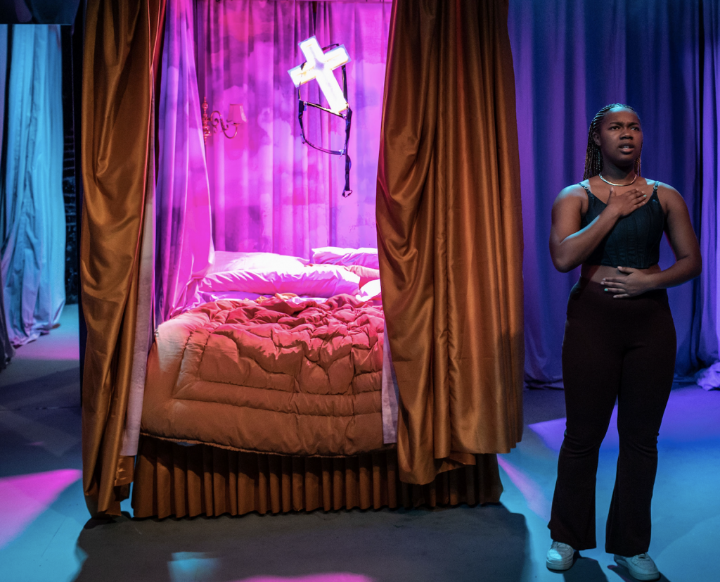 curious by Jasmine Lee-Jones at Soho Theatre. Photo by Helen Maybanks6