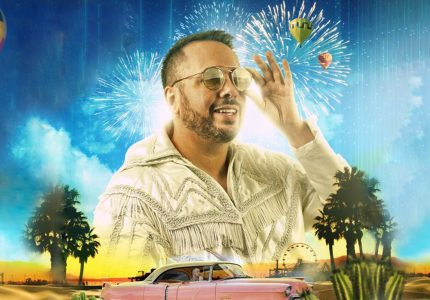 publicity image of Rob Broderick for the comedy show Abandoman: Road to Coachella