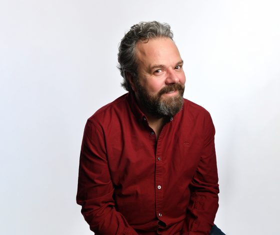 publicity image of Hal Cruttenden for the comedy show It's Best You Hear It From Me (Tour Preview