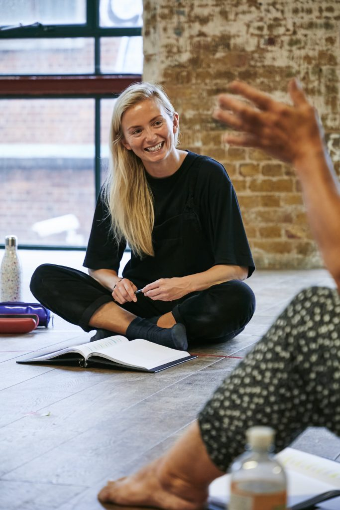 Sophie Melville (Nina) in rehearsal for Mum. Photo by The Other Richard. (01)