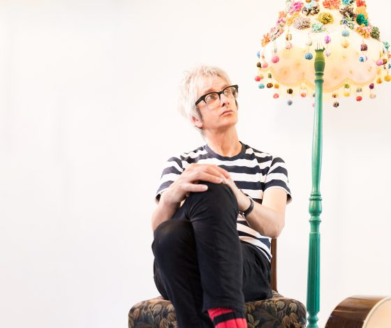 publicity image of Nick Cope for the show Nick Cope's Family Show